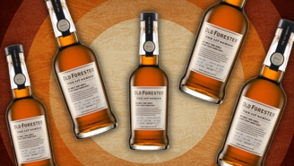 Old Forester High Angels' Share Bourbon Whiskey Is A History-Making Entry To The Brand's New 117 Series