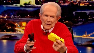 Even Pat Robertson Can't Wrap His Brain Around How A Cop Could Mistake Their Gun For A Taser