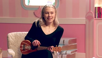 Phoebe Bridgers Smashes A Ukulele In Her Latest Bit Of Instrument Destruction