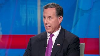 People Are Calling For CNN To Fire Rick Santorum After His Astoundingly Ignorant/Revisionist Statements About Native American Culture And U.S. History