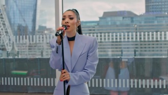 Rina Sawayama Is Backed By A Band And A City Skyline For Her NPR Tiny Desk Performance