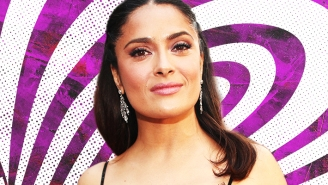 The Rundown: A Few Pressing Questions About Salma Hayek And Her Fancy Wine-Sipping Pet Owl