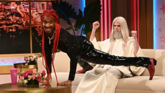 Lil Nas X Reacts To The 'SNL' Skit Featuring Him Giving God A Lap Dance