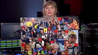 Taylor Swift Tells Stephen Colbert 'Hey Stephen' Isn't About Him But Her Mood Board Says Otherwise