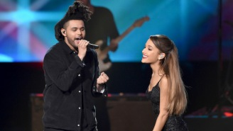The Weeknd And Ariana Grande's 'Save Your Tears' Stays Atop The Hot 100 Chart For A Second Week