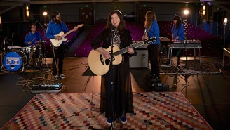 Lucy Dacus Brought Her Reflective Track 'Hot & Heavy' To An Empty Theater On 'Colbert'