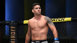 Chris Weidman Broke His Leg On His First Strike At UFC 261