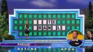Pat Sajak Made A Huge Mistake No One Seemed To Notice On 'Wheel Of Fortune'