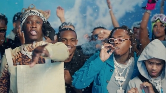 Young Thug And Gunna Bring Out All The Stars For A Lavish Party In Their Video For 'Ski'