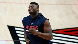 Zion Williamson Gushing About The 'Atmosphere' In New York Has Knicks Fans Hot And Bothered