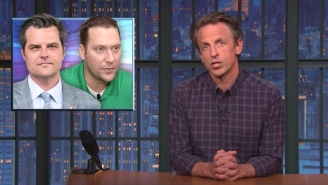 'The MAGA Crowd Seems To Have A Lot Of Criminals In It': Seth Meyers Tore Into Gaetz, Giuliani, And Others In The MAGA Crime Family
