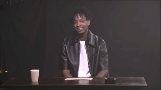 21 Savage And Chris Rock Play 'True Confessions' With Jimmy Fallon