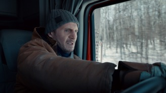 Liam Neeson Is Using His Very Particular Set Of Skills To Save 26 Trapped Miners In 'The Ice Road' Trailer