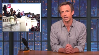 Seth Meyers Reminded Republicans Trying To Rewrite History Of The Capitol Insurrection That We All Watched It Happen