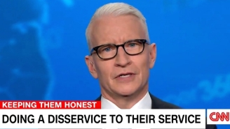 Anderson Cooper Torched Ted Cruz For 'Wandering Dorm Halls In A Paisley Bathrobe' Instead Of Serving In The Military He Now Says Is 'Emasculated'