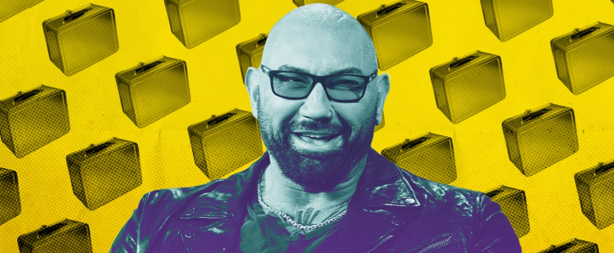If You're Lucky, Someday Dave Bautista Might Give You A Lunchbox (He Has An Extensive Collection)
