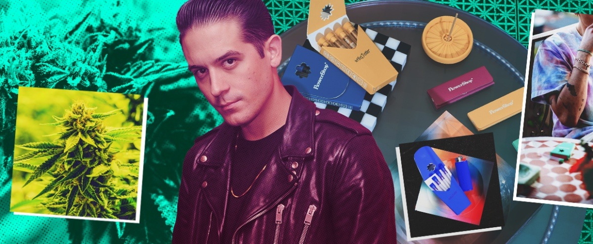 We Talked To G-Eazy About His New Cannabis Brand, FlowerShop, And Smoked His Debut Pre-Rolls