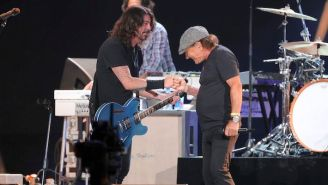 Foo Fighters Joined AC/DC's Brian Johnson For An Energetic Rendition Of 'Back In Black'