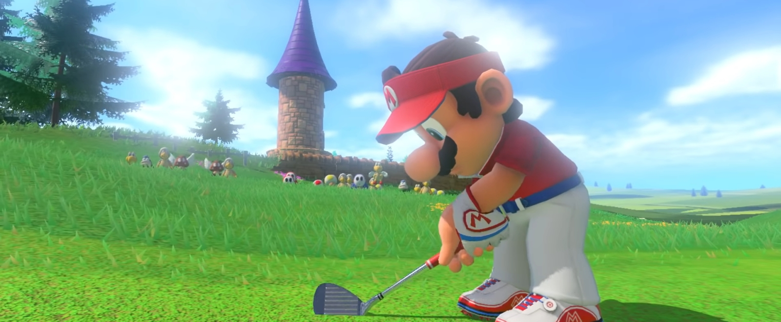 This New 'Mario Golf: Super Rush' Game Mode Is 'Mario Kart' Meets Golf