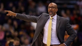 Monty Williams Was Voted Coach Of The Year By His Fellow Coaches