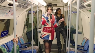 Dua Lipa Takes Over The London Metro For A Medley Of 'Future Nostalgia' Hits At The 2021 Brit Awards