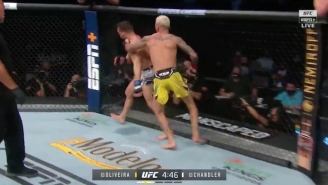 Charles Oliveira Stunned Michael Chandler To Win The Lightweight Title At UFC 262