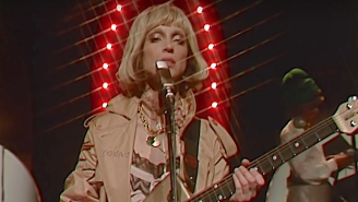 St. Vincent's Groovy 'Down' Performance On 'Fallon' Is Steeped In '70s Influences