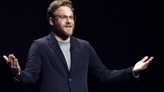 Seth Rogen Detailed A Bizarre Dinner With Nicolas Cage That Began With The Famously Eccentric Actor Delivering A Made-Up Monologue… In A Jamaican Accent