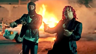 Trippie Redd And Playboi Carti Commit Therapeutic Vandalism In Their Explosive 'Miss The Rage' Video
