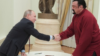 Newly Minted Russian Citizen Steven Seagal Is Doubling Down On His Love For Putin