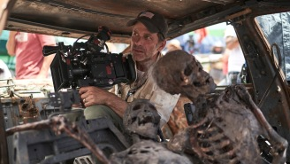 Zack Snyder's 'Army of the Dead' Set Was Full of Stars, Blood, and Zombies — But No Chairs