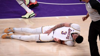 Anthony Davis Is Reportedly Unlikely To Play In Game 5 In Phoenix
