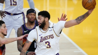Anthony Davis Calls The 'Different Challenge' Of Navigating The Play-In Tournament 'Fun'