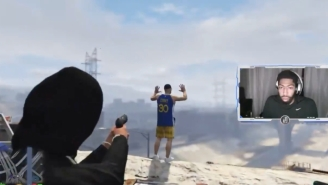 Anthony Davis Shot A Dude In A Steph Curry Jersey During 'Grand Theft Auto Roleplay'