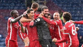 Liverpool Goalie Alisson Scored A Final Minute Goal To Keep Hopes Of A Top 4 Finish Alive
