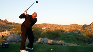 Charles Barkley's New Golf Swing Is Shockingly Good