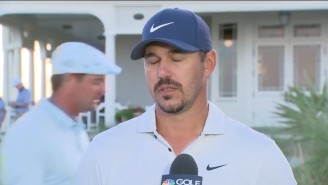 Brooks Koepka Is Sorry Aaron Rodgers Has To Play In The Match With Bryson DeChambeau
