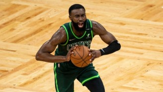 Jaylen Brown And Jayson Tatum Went To The Locker Room After A Late Collision In Boston's Loss To Portland