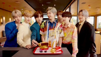 BTS Launch Their McDonald's Meal With A Slick New Commercial