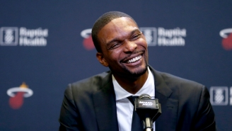 Chris Bosh And Bon Iver's Justin Vernon Once Smoked Weed Together And Talked About Guitars At Glastonbury
