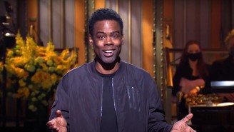 Chris Rock Returned To The 'SNL' Cold Open To Help Recap A Wild Year
