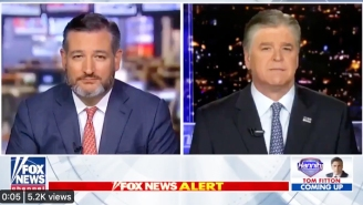A Resurfaced (And Edited) Ted Cruz Clip Had People Believing That He Swallowed A Fly On Fox News