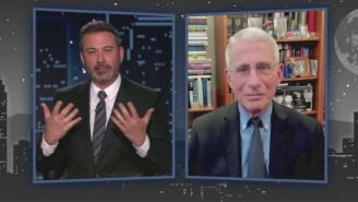 Dr. Fauci Opened Up To Jimmy Kimmel About How 'Very Frustrating' COVID Anti-Vaxxers And Conspiracy Theories Are To Him