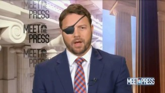 Dan Crenshaw Was Confronted On 'Meet The Press' Over Trump's Election Lies: 'Why Should Anybody Believe A Word You Say?'