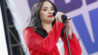 Demi Lovato Is In Frustrated Disbelief At Huge Lollapalooza Crowds Amid A COVID-19 Delta Variant Surge