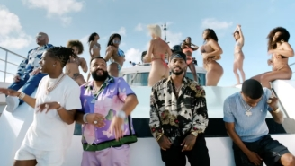 DJ Khaled, Lil Baby, Roddy Ricch, And Bryson Tiller  Party On A Yacht For Their 'Body In Motion' Video