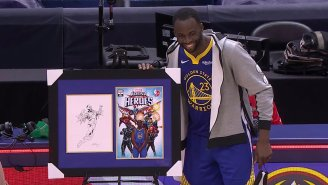 Draymond Green Said ESPN's Marvel Broadcast Gave Him Extra Motivation With His Kids Watching