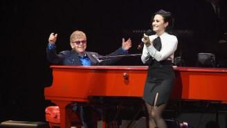 HER, Demi Lovato, And Brandi Carlile Will Honor Elton John At The 2021 iHeartRadio Music Awards
