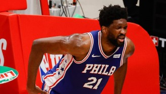 Joel Embiid Will Not Return To Game 4 With Right Knee Soreness
