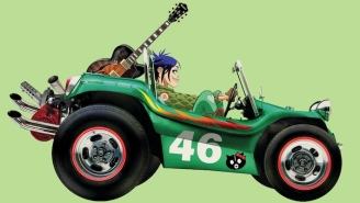 Gorillaz Are Dropping A Collectible Vinyl Toy 'Geep' To Celebrate 20 Years Of The Band